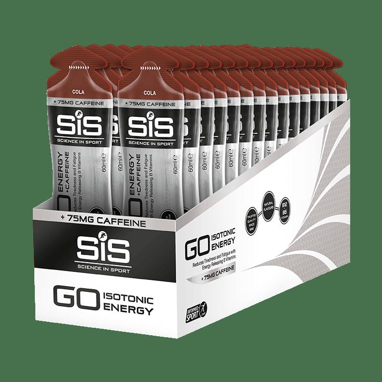 SiS GO Energy + Caffeine Gels - 30 Pack