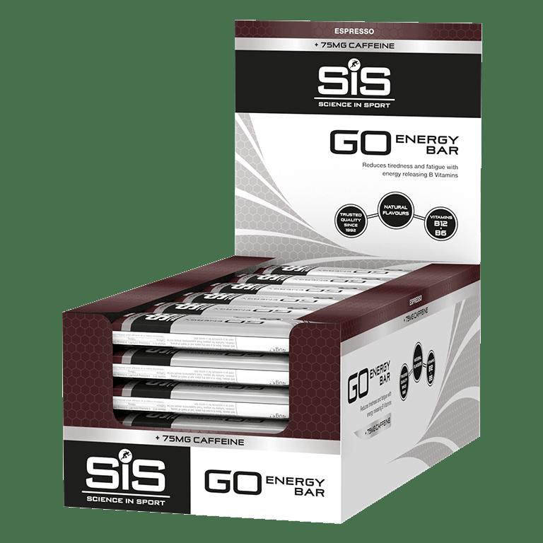 GO Energy + Caffeine Mini Bars - 30 Pack