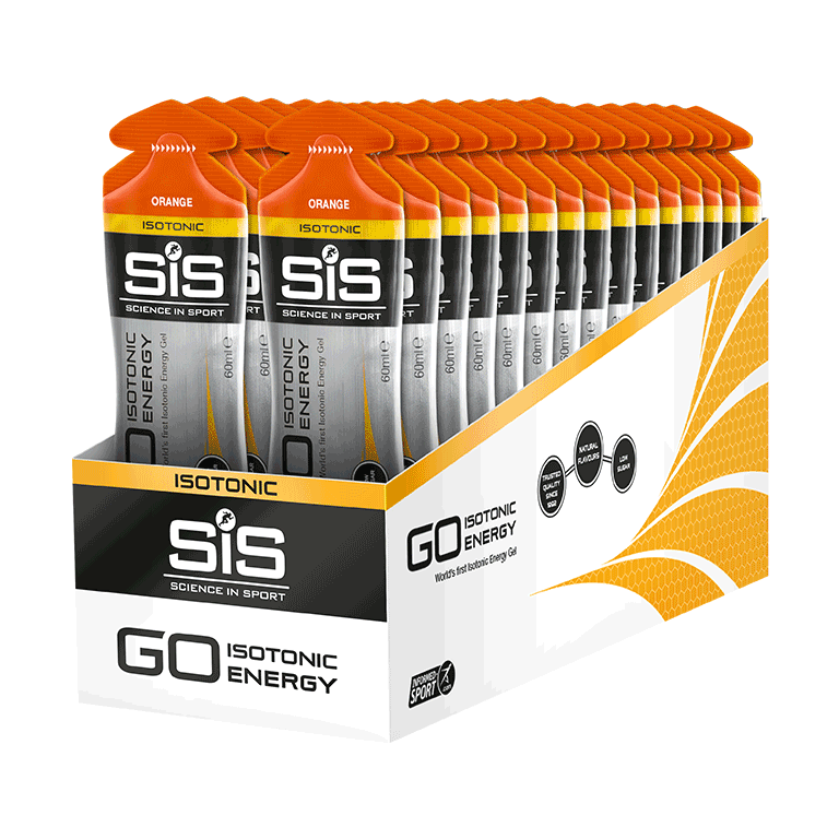 GO Isotonic Energy Gel  - 30 Pack (Orange)