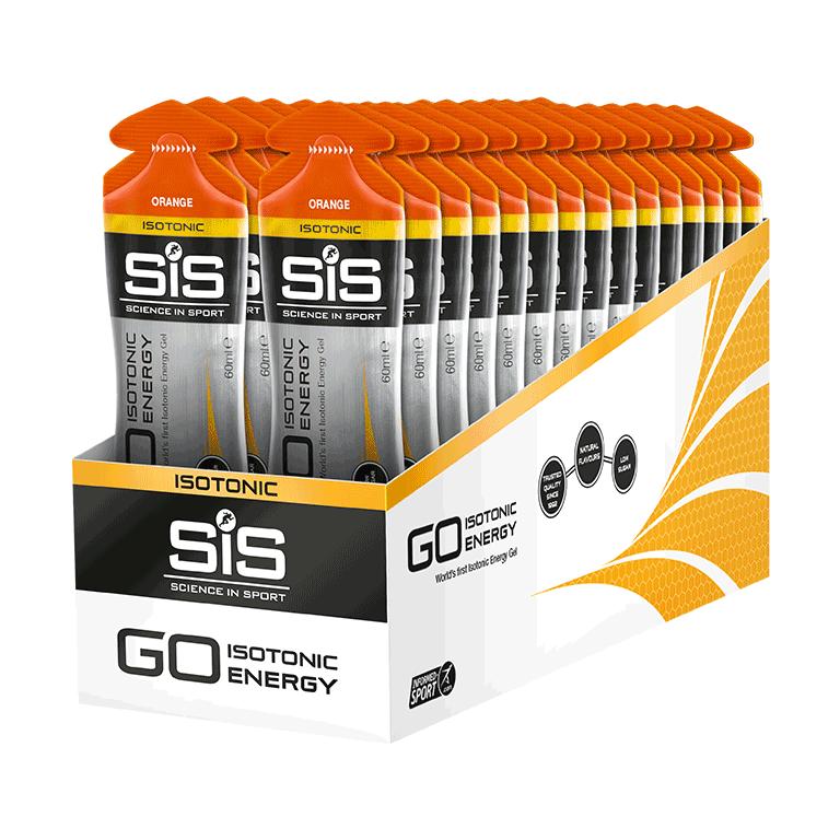 GO Isotonic Energy Gel  - 30 Pack (Orange)