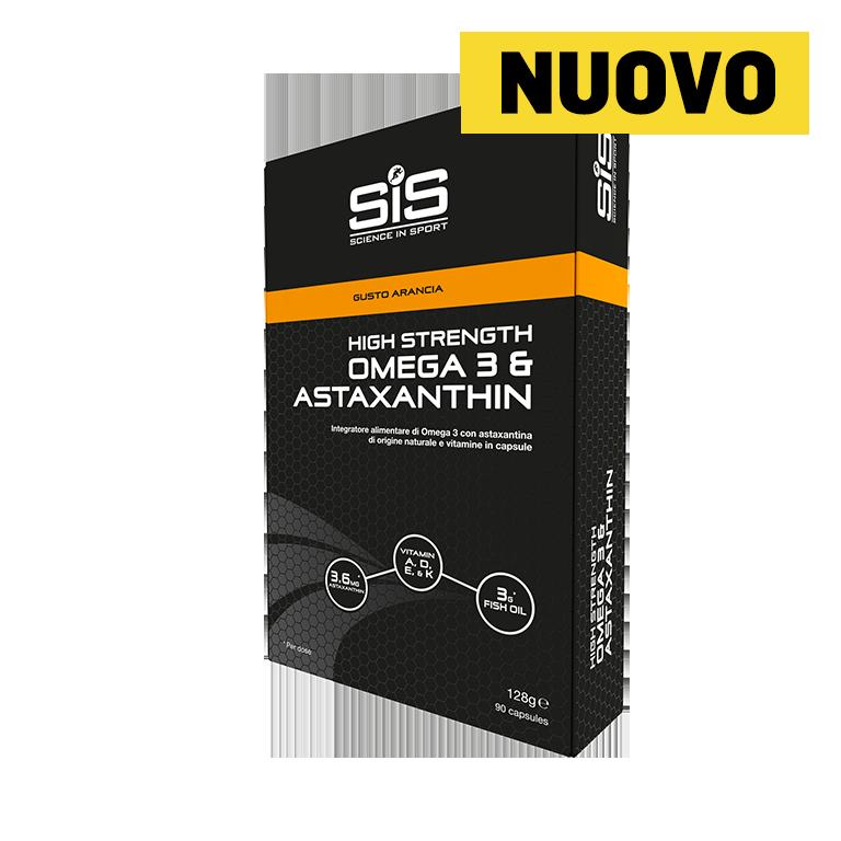 Omega 3 + Astaxanthin 1000mg - 90 Capsule (Arancia)