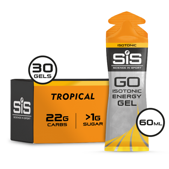 GO Isotonic Energy Gel 60ml 30 Pack - Tropical