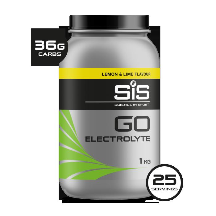 GO Electrolyte Lemon & lime - 1kg