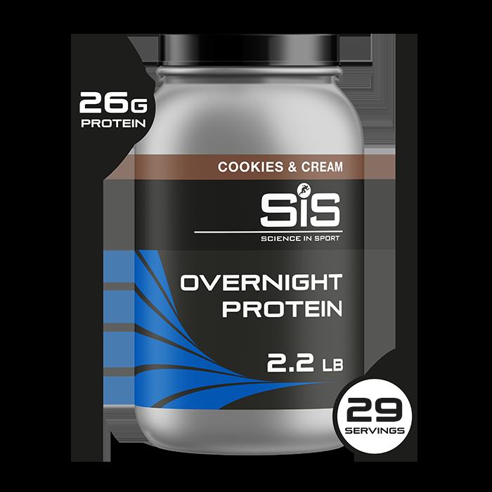 Overnight Protein Powder 1kg - Cookies & Cream