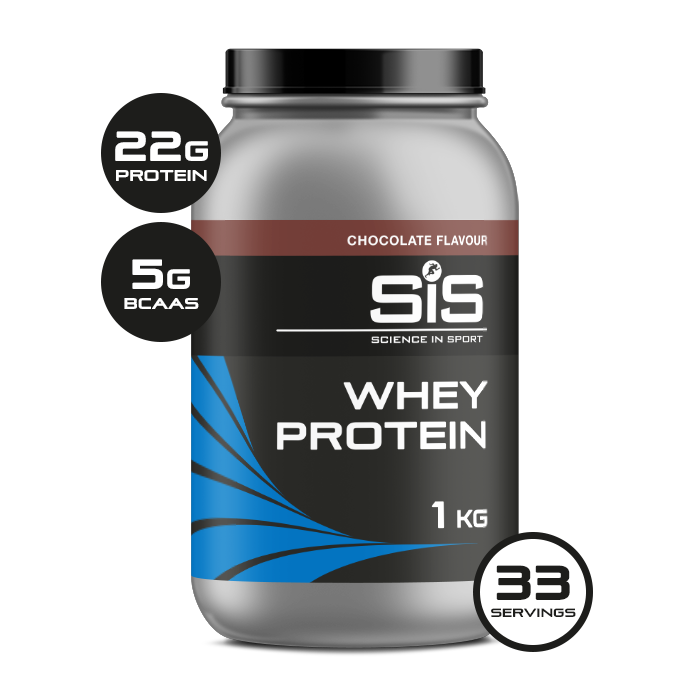 Whey Protein Powder 1kg Tub - Chocolate