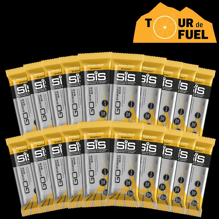 GO Energy Bar Mini - 20 Pack (Banana Fudge)