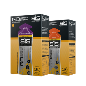 SiS GO Isotonic Energie Gele Pakete (2 x 6 pack)