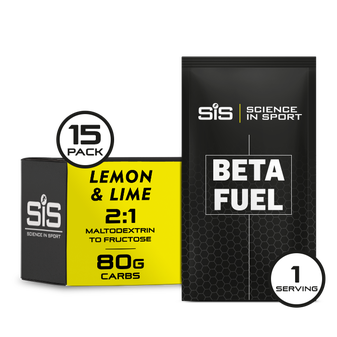 SiS Beta Fuel Lemon & Lime 15 Pack