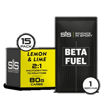 Beta Fuel 15 Pack - Lemon & Lime