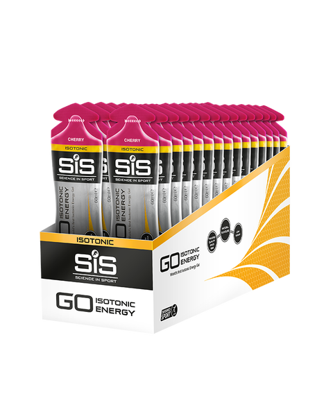 SiS GO Isotonic Energy Gel - 30 Pack - (Cereza)