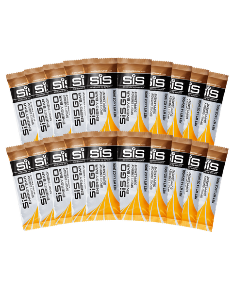 GO Energy Bar - 20 Pack (Chocolate Fudge)
