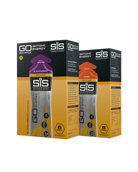 SiS GO Isotonic Energy Gel Bundle (2 x 6 pack)