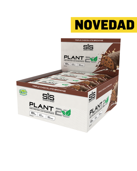 PLANT20 Bar - 12 Pack (Brownie De Chocolate Triple)