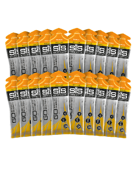 GO Isotonic Energy Gel - 20 Pack (Tropical)
