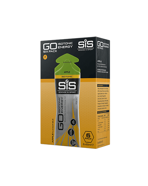 SiS GO Isotonic Gel 60ml 6 Pack Apple