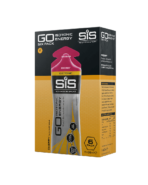 GO Isotonic Energy Gel - 6 Pack Ciliegia