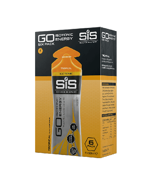 GO Isotonic Energy Gel  - 6 Pack (Tropical)