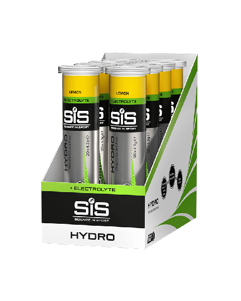 SiS GO Hydro 20 Tablets 8 Pack Lemon