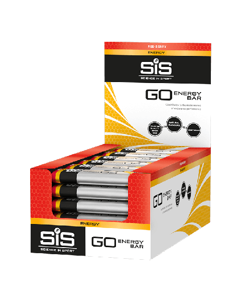 SiS GO Energy Bar Mini 40g 30 Pack Red Berry