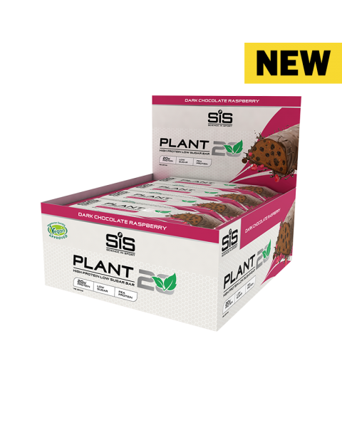 PLANT20 Bar - 12 Pack (Dark Chocolate Raspberry)