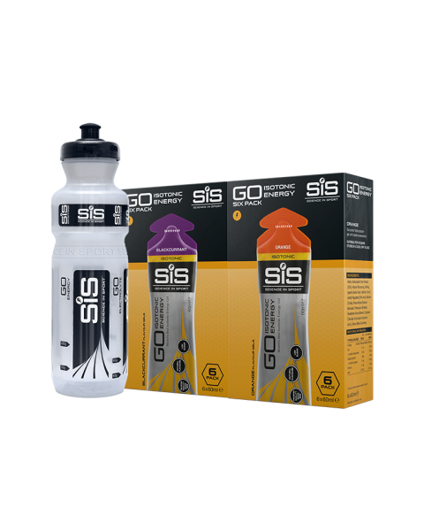 GO Isotonic Energy Gel Training Pack