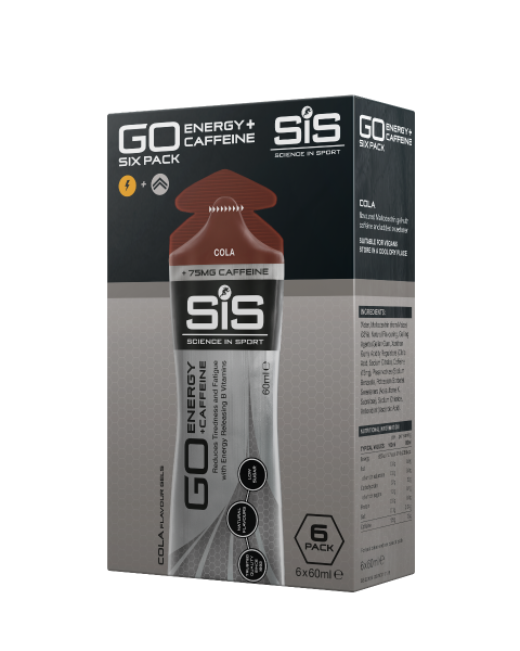 SiS GO Energy + Caffeine Gel 60ml 6 Pack Cola