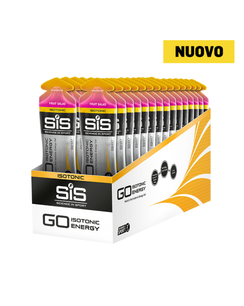 GO Isotonic Energy Gel  - 30 Pack (Fruit Salad)