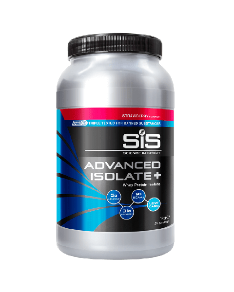 SiS Advanced Isolate + 1kg Strawberry