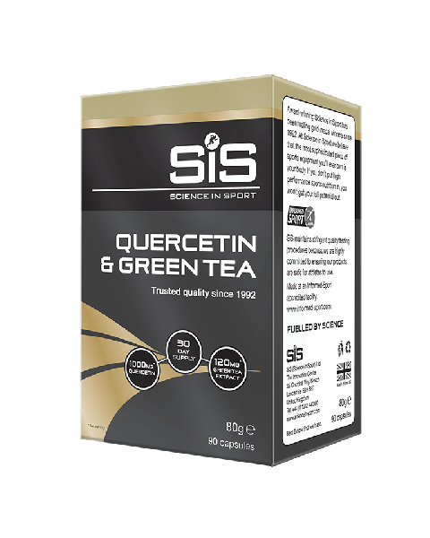 Quercetin & Green Tea 400mg - 90 Tablets (Unflavoured)
