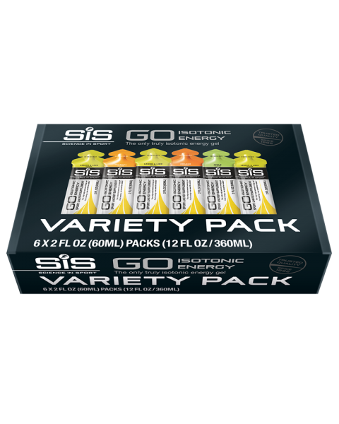 GO Isotonic Energy Gel Variety Pack
