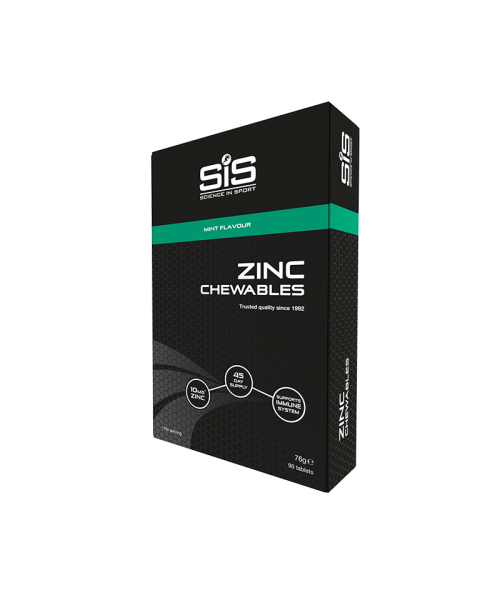 SiS Chewable Zinc Tablets 10mg Mint - 90 Tablets