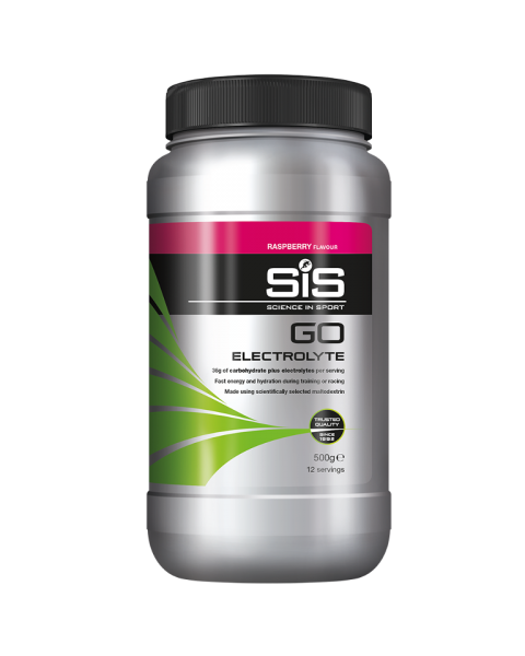 GO Electrolyte Powder - 500g (Raspberry)