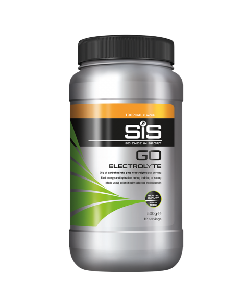GO Electrolyte Powder - 500g (Tropical)