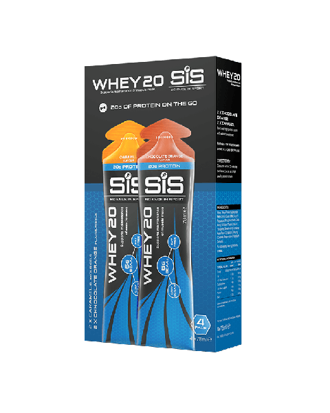 SIS WHEY20 Gel - 4-pack