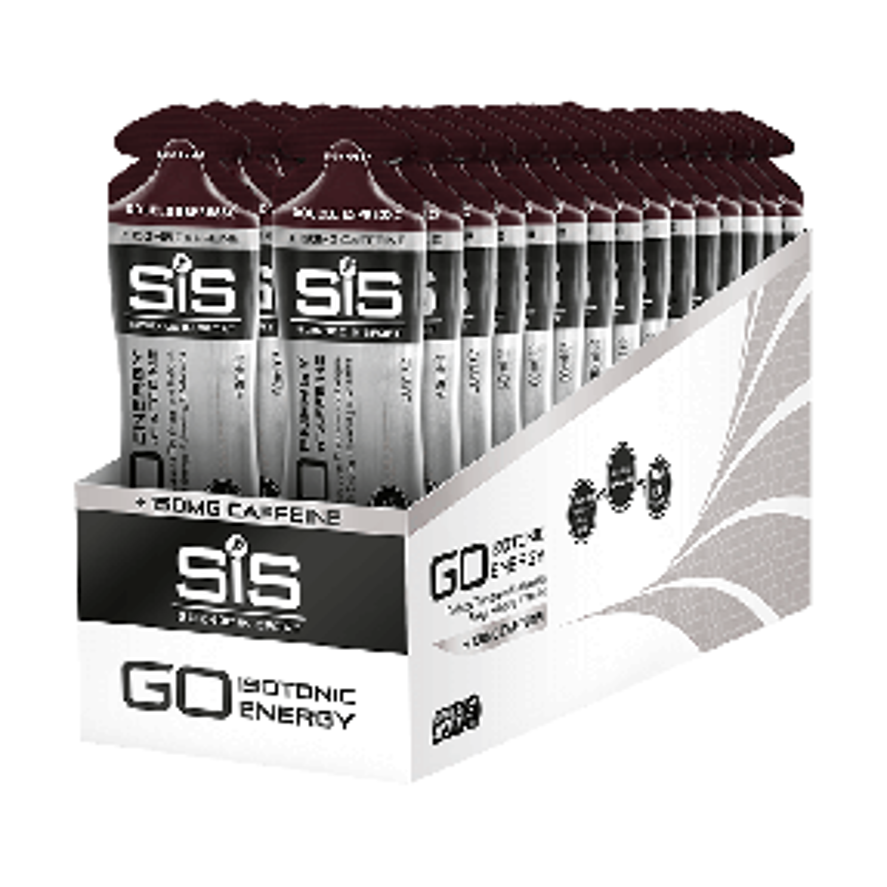 GO Energy + Double Caffeine Gel - 30 Pack Espresso doppio