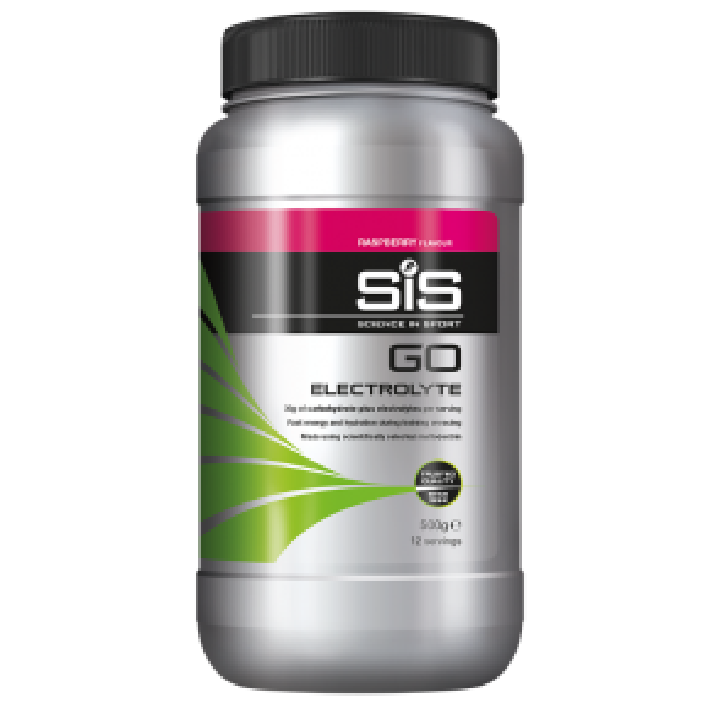 GO Electrolyte Powder - 500g (Raspberry)
