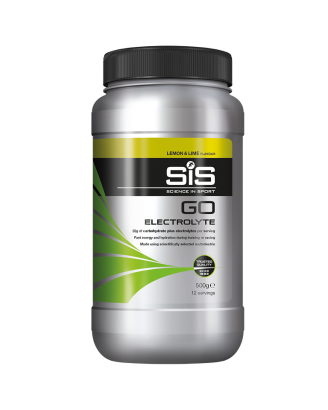 GO Electrolyte Powder - 500g (Lemon & Lime)