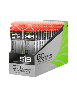 GO Energy + Electrolyte Gel 30 Pack - Salted Strawberry