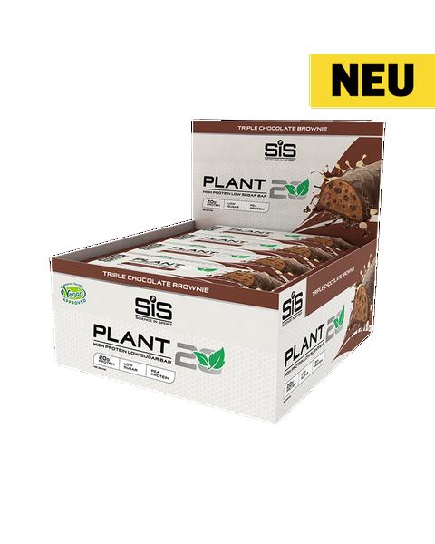 PLANT20 Bar - 12 Pack (Brownie aus drei verschiedenen Schokoladensorten)