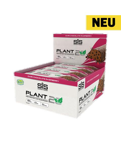 PLANT20 Bar - 12 Pack (Zartbitterschokolade mit Himbeere)