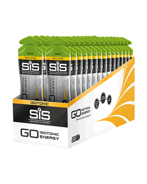 SiS GO Isotonic Energy Gel Apple 30 Pack