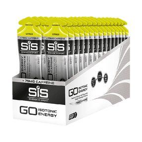 GO Energy + Caffeine Gel  - 30 Pack (Citrus)