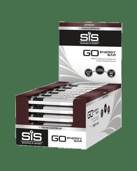 GO Energy + Caffeine Bars - 30 Pack (Espresso)