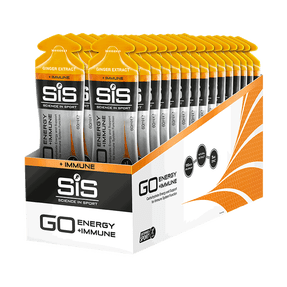 SiS GO Energy + Immune Gel Ginger - 30 Pack