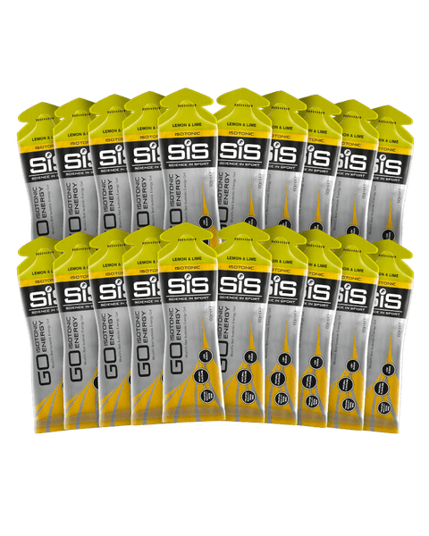 GO Isotonic Energy Gel  - 20 Pack (Lemon & Lime)