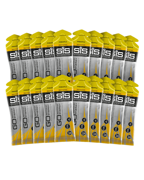 GO Isotonic Energy Gel - 20 Pack (Pineapple)