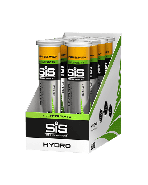 GO Hydro 20 Tabs - 8 Pack (Ananas & Mango)