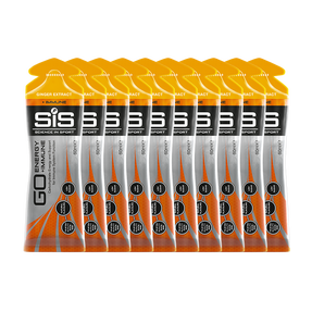 SiS GO Energy + Immune Gel Ginger - 10 Pack