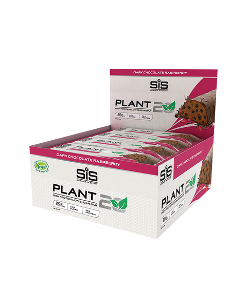 PLANT20 Bar - 12 Pack (Dark Chocolate Raspberry)
