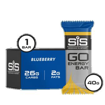 GO Energy Bar Mini Blueberry 40g  - Single